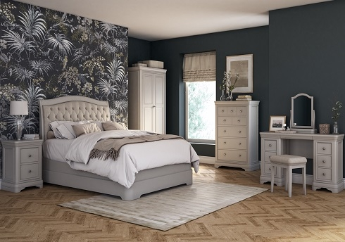 Mabel Taupe Bedroom