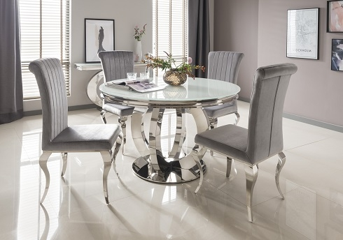Orion White Glass Range