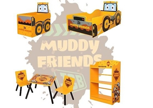 JCB Muddy Friends Collection